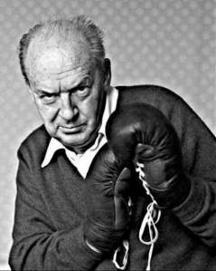 Vladimir Nabokov getting punchy
